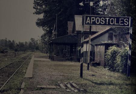 Foto vom Bahnhof von Príncipe de los Apóstoles